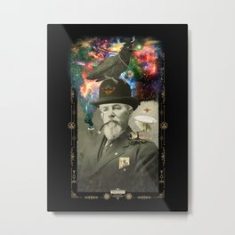 Odd Scientist Metal Print