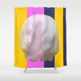 The soft kill bill floral Shower Curtain