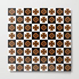 Spartan Chess Metal Print