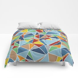 Abstraction Outline Comforters