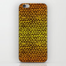 mosaic stripes iPhone & iPod Skin
