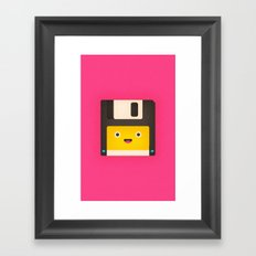Floppy Disk Framed Art Print