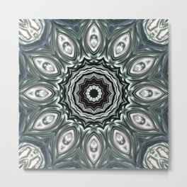 Star Flower of Symmetry 514 Metal Print