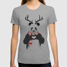 Xmas panda T-shirt