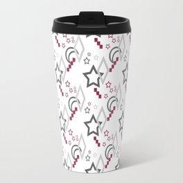 Bright abstract pattern . Star . Travel Mug