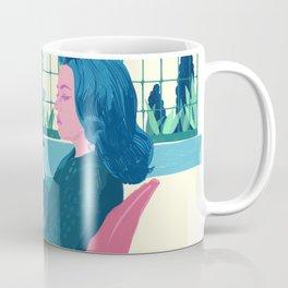 Elevator to the Gallows - Jeanne Moreau - illustration tribute Coffee Mug
