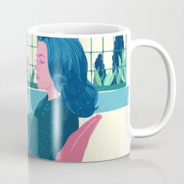 Elevator to the Gallows - Jeanne Moreau - illustration tribute Coffee Mug