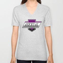Identity Stamp: Asexual Unisex V-Neck