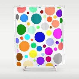 Pebincilin V Shower Curtain