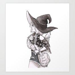 Soul Food Witch Art Print
