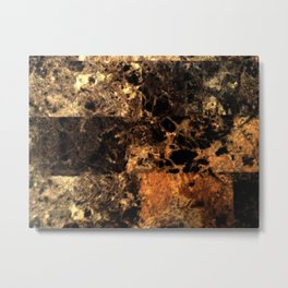 Light Marble Texture  Metal Print