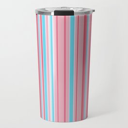 Stripe obsession color mode #5 Travel Mug