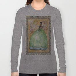 "Frida kahlo ""pies para qué os quiero, si tengo alas para volar..."" Long Sleeve T-shirt"