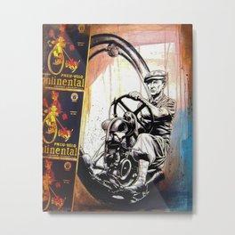 Continental Metal Print