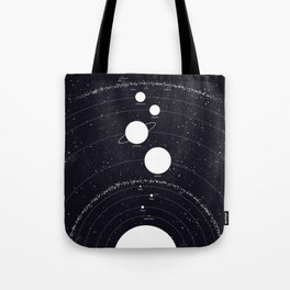 Stellarum Ordo Solaris: A map of our Solar system Tote Bag