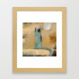 MANY MOODS Framed Art Print