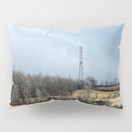 Talking with God ~ Highway 401 Landscape Series | Nadia Bonello Pillow Sham