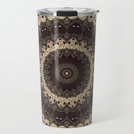 Mandala Arabica . Travel Mug