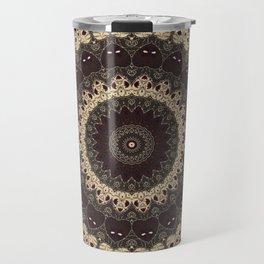 Mandala Arabica . Travel Mug