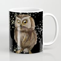 hedwig Mugs featuring My Hedwig by Mathis Designs