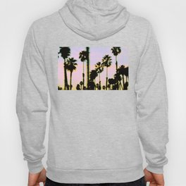 California Dreaming Palm Trees Sunset Hoody