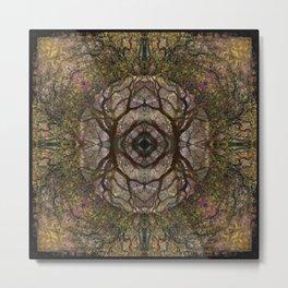 Mandala Primordia Metal Print
