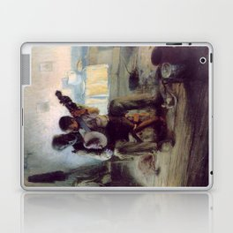 The Banjo Lesson by Henry Ossawa Tanner Laptop & iPad Skin