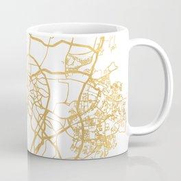 KUALA LUMPUR MALAYSIA CITY STREET MAP ART Coffee Mug