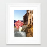 welcome Framed Art Prints featuring Welcome by Michael Harford