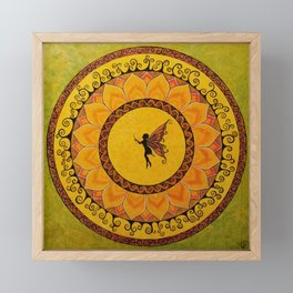 Fairy Garden  Framed Mini Art Print