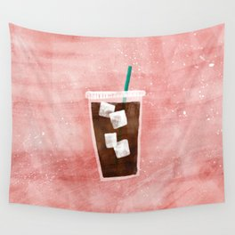 Iced Coffee Wall Tapestry