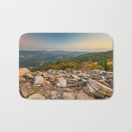 Spruce Knob Mountain Sunset Bath Mat