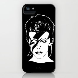 David Starman Ziggy Bowie iPhone Case