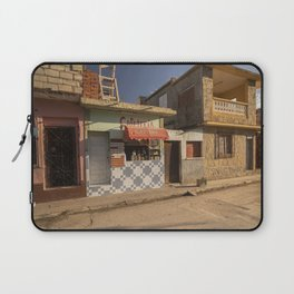 Beautiful and colourful little cafeteria in Trinidad, Cuba. Laptop Sleeve
