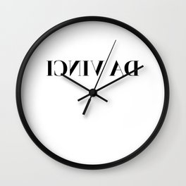 DA VINCI Wall Clock