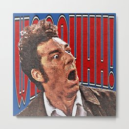 WAAAHHH! Kramer Shock Metal Print