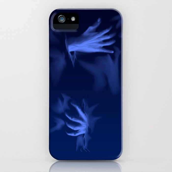 Coming Out Of The Blue iPhone Case