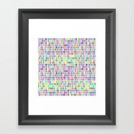 1 million and 1 days Framed Art Print