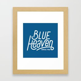Blue Heaven Framed Art Print