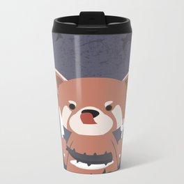 Hungry Raccoon Metal Travel Mug