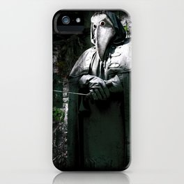 The Plague Doctor iPhone Case