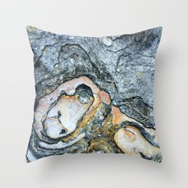 Florida Sandstone Pattern #1 Throw Pillow