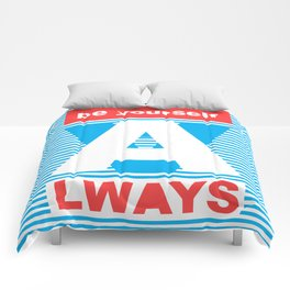 Be Yourself Always, (Playing With Stripes collection) Comforters