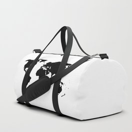 World Outline Duffle Bag