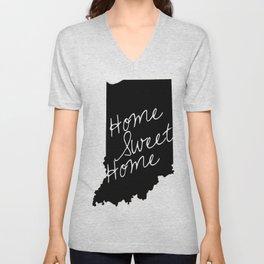 Indiana Home Sweet Home Unisex V-Neck