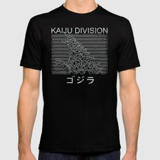 Kaiju Division Black Mens Fitted Tee X-LARGE