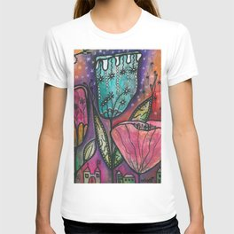 They live under flowers T-shirt