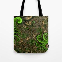 Fantasy World II, Abstract Fractal Art Tote Bag
