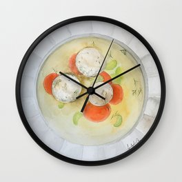 Matzo Ball Soup Wall Clock