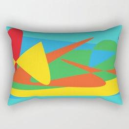 Abstract Story II Rectangular Pillow